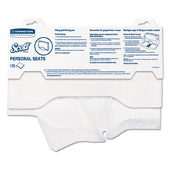 Scott Personal Seats Sanitary Toilet Seat Covers, 15