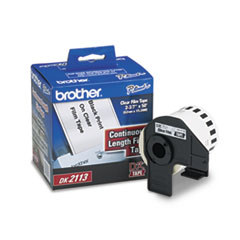 Brother Continuous Film Label Tape, 2-3/7
