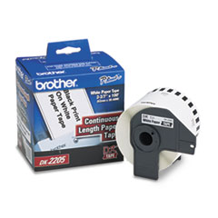 Brother Continuous Paper Label Tape, 2.4