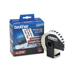 Brother Continuous Paper Label Tape, 1.1