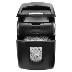 Swingline Stack-and-Shred 100X Auto Feed Shredder, Super Cross-Cut, 100 Sheets, 1-2 Users