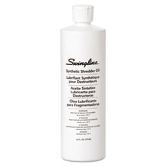 Swingline Shredder Oil, 16-oz. Bottle