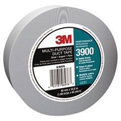 3M Poly-Coated Cloth Duct Tape, General Maintenance, 48mm x 54.8m, Silver