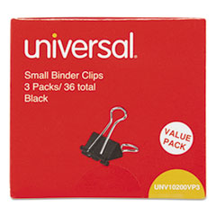 UNV 10200VP3 Universal Binder Clips UNV10200VP3