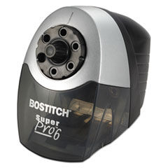 Bostitch SuperPro 6 Commercial Electric Pencil Sharpener, Gray/Black