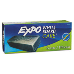 EXPO Dry Erase Eraser, Soft Pile, 5 1/8w x 1 1/4h