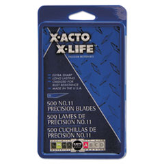 #11 Bulk Pack Blades for X-Acto Knives, 500/Box