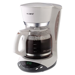 MFE DWX20RB Mr. Coffee® 12-Cup Programmable Coffeemaker MFEDWX20RB