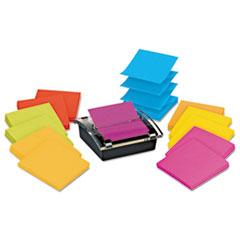 Post-it Pop-up Notes Super Sticky Pop-up Dispenser Value Pack, 3 x 3, Assorted