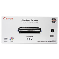 Canon 2578B001 (117) Toner, 6,000 Page-Yield, Black