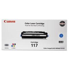 Canon 2577B001 (117) Toner, 4,000 Page-Yield, Cyan