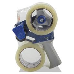 Universal One Heavy-Duty Box Sealing Tape w/Dispenser, 48mm x 54.8m, 3