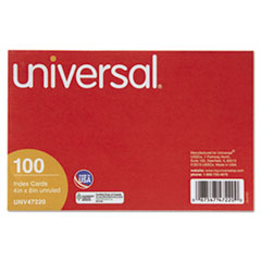 UNV 47220 Universal Recycled Index Strong 2 Pt. Stock Cards UNV47220