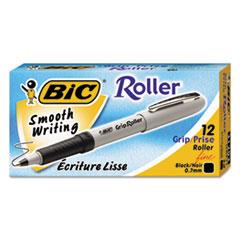 BIC Ecolutions Reaction Ballpoint Retractable Pen, Black Ink, 1mm, Medium, Dozen