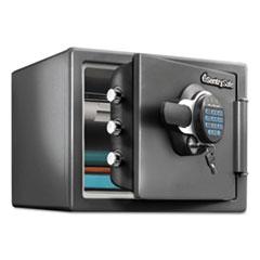 Sentry Safe Electronic Fire Safe, 0.8 ft3, 16 11/16 x 19 5/16 x 13 23/32, Gunmetal Gray