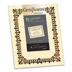 SOU 98867 Southworth Parchment Certificates SOU98867