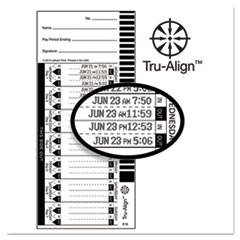 LTH 16100 Lathem® Time Time Cards LTH16100