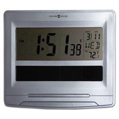 MIL 625608 Howard Miller Solar Tech Desk/Wall Clock MIL625608
