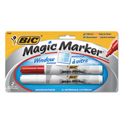 BIC MWTP21RWAST BIC Magic Marker Brand Window Marker BICMWTP21RWAST