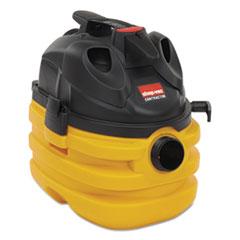 Shop-Vac Heavy-Duty Portable Wet/Dry Vacuum, 5gal Capacity, 17lb, Black/Yellow
