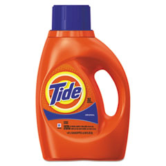 Ultra Liquid Tide Laundry Detergent, 50 oz Bottle, 6/Carton