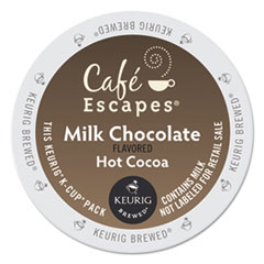 GMT 6801 Café Escapes® Milk Chocolate Hot Cocoa K-Cups® GMT6801