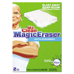 Mr. Clean Magic Eraser Bathroom Scrubber, 4 1/2