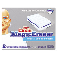 Mr. Clean Magic Eraser Kitchen Scrubber, 3 9/10