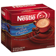 NES 61411 Nestle® No-Sugar-Added Hot Cocoa Mix Envelopes NES61411