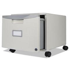 STX 61263U01C Storex Single-Drawer Mobile Filing Cabinet STX61263U01C