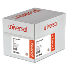 Universal Computer Paper, 20lb, 14-7/8 x 11, White, 2400 Sheets