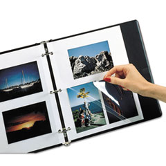 C-Line Redi-Mount Photo-Mounting Sheets, 11 x 9, 50/Box