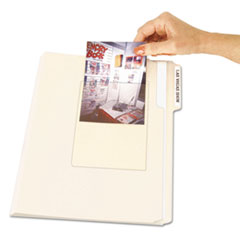 C-Line Peel & Stick Photo Holders for 3-1/2 x 5 & 4 x 6 Photos, 4-3/8 x 6-1/2, Clear
