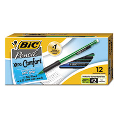 BIC Mechanical Pencil Xtra Comfort, 0.7mm, Assorted, Dozen
