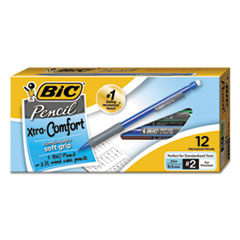BIC Mechanical Pencil Xtra Comfort, 0.5mm, Assorted, Dozen