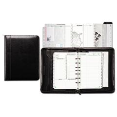 Day-Timer Aristo Bonded Leather Starter Set, 5 1/2 x 8 1/2, Black