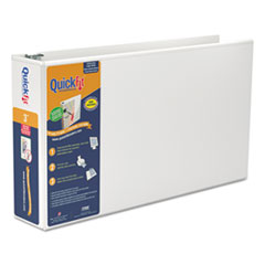 QuickFit from Stride QuickFit Ledger D-Ring Binder, 3