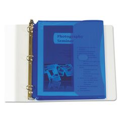 CLI 57535 C-Line Poly Binder Pockets CLI57535