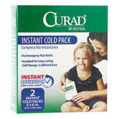 Curad® COLD PACK INSTANT COLD GN Instant Cold Pack, 2-box