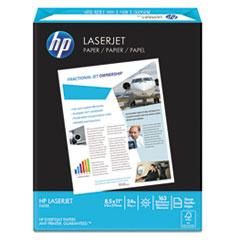 HP LaserJet Paper, 98 Brightness, 24lb, 8-1/2 x 11, Ultra White, 500 Sheets/Ream