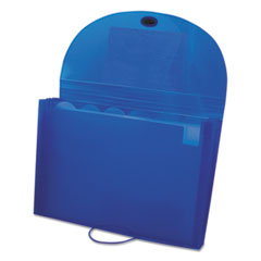 C-Line Specialty Expanding Files, Letter, 7-Pocket, Blue