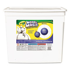 Crayola Model Magic Modeling Compound, 8 oz each packet, White, 2 lbs.