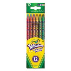 CYO 687408 Crayola Twistables Colored Pencils CYO687408