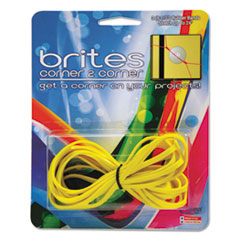 Alliance Brites Corner-To-Corner Rubber Bands, 8 1/2