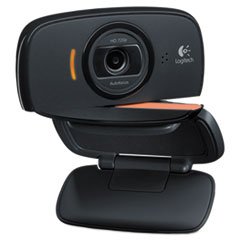 Logitech Webcam C525,720P HD, 8MP, Black/Silver