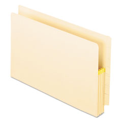 Pendaflex Manila Drop Front Shelf File Pockets, Straight Cut, 25 Pockets, Legal, Manila