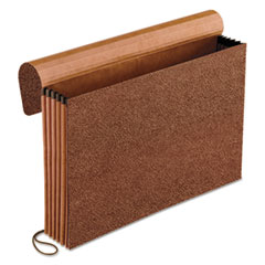 Pendaflex Standard Expanding Wallet, Straight Cut, 1 Pocket, Legal, Redrope