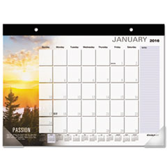 AT-A-GLANCE Successories Motivational Desk Pad, 22 x 17, 2016