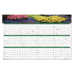 House of Doolittle Gardens of the World Reversible/Erasable Wall Calendar, 24 x 37, 2016