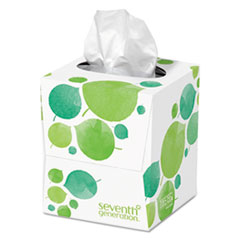 SEV 13719EA Seventh Generation 100% Recycled Facial Tissue SEV13719EA